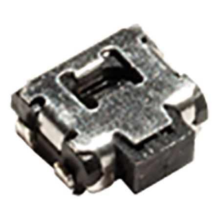C & K IP40 Side Tactile Switch, Single Pole Single Throw (SPST) 50 mA Surface Mount