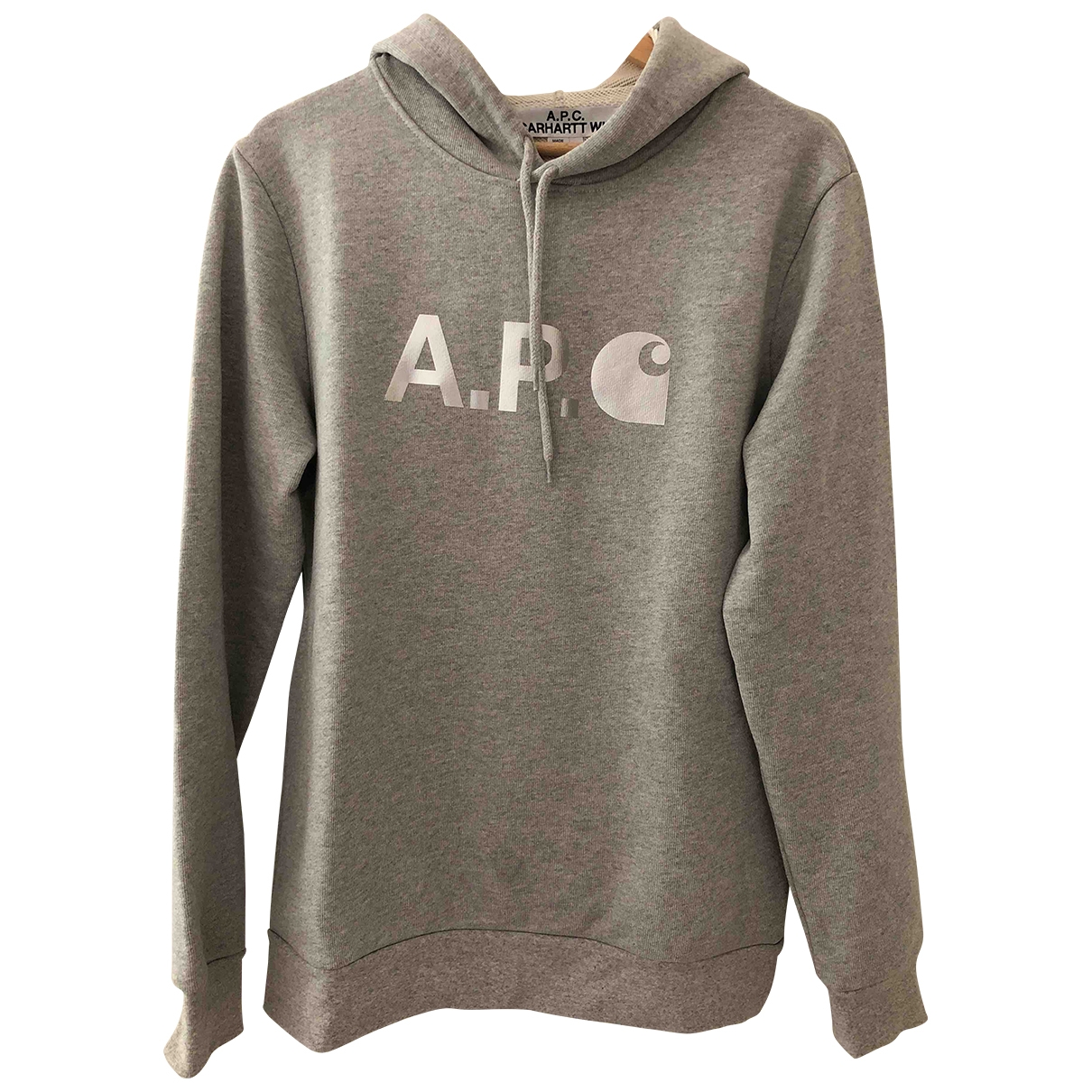 Apc \N Pullover.Westen.Sweatshirts  in  Grau Baumwolle