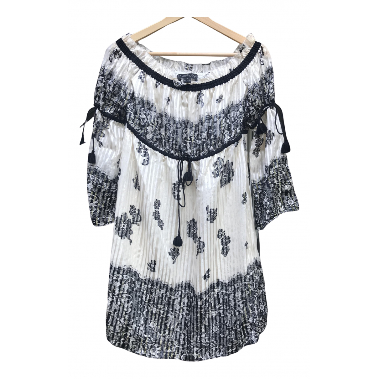Rachel Zoe \N Black Silk dress for Women 2 US