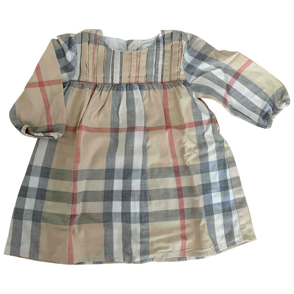 Burberry \N Beige Cotton dress for Kids 12 months - until 29 inches UK