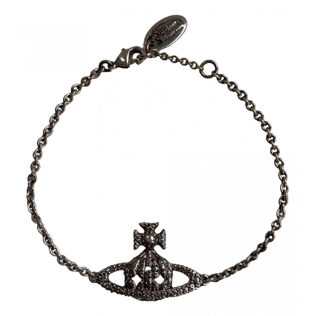 Vivienne Westwood - Bracelet   pour femme en metal - gris