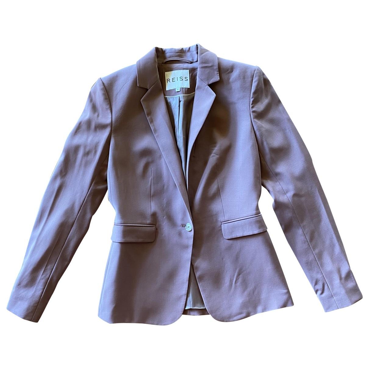 Reiss \N Pink Wool jacket for Women XS International