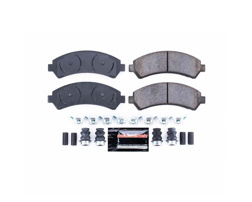 Power Stop Z23-726 Z23 Evolution Sport Brake Pads w/Hardware Front Chevrolet Blazer 1997-2005
