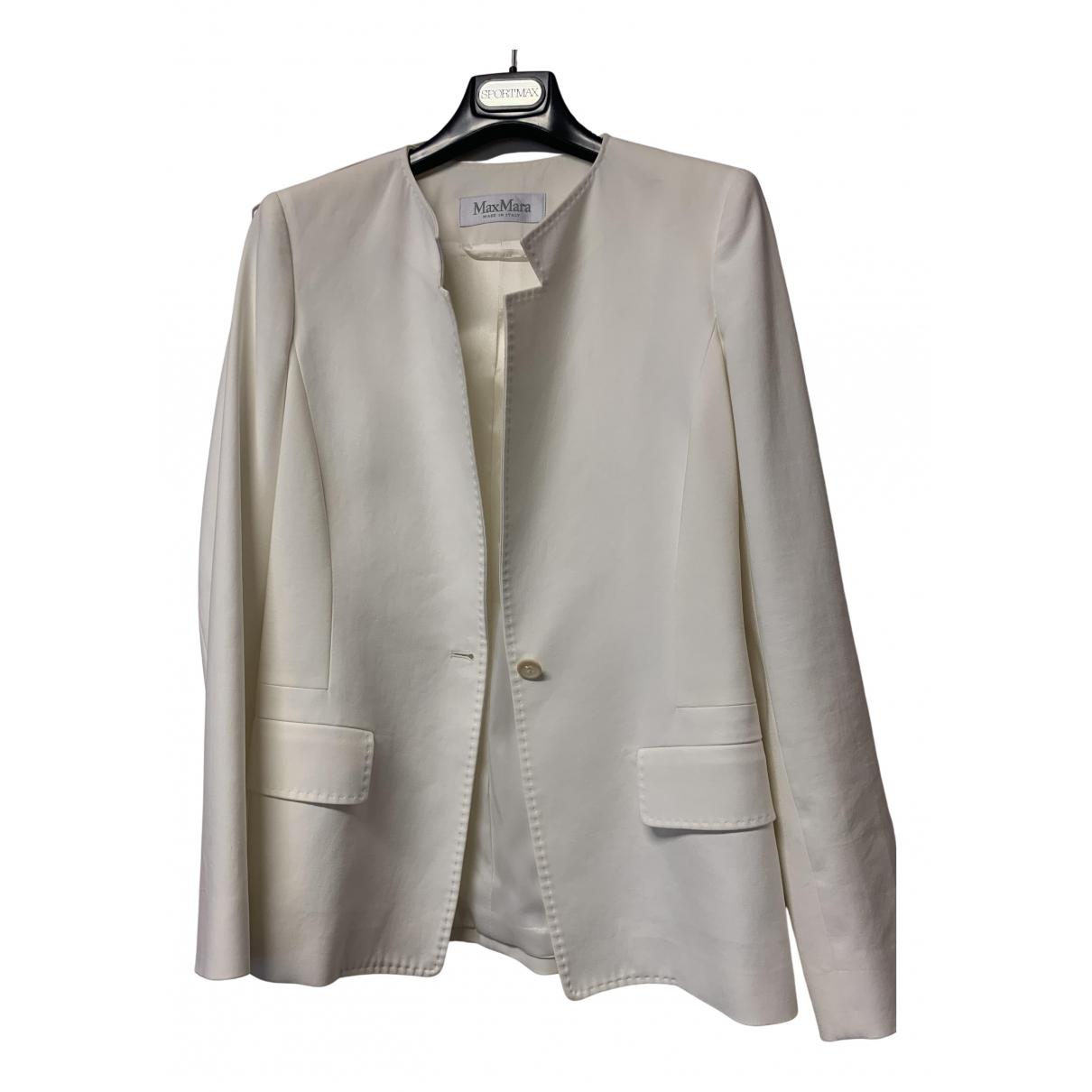 Max Mara N White jacket for Women 40 IT