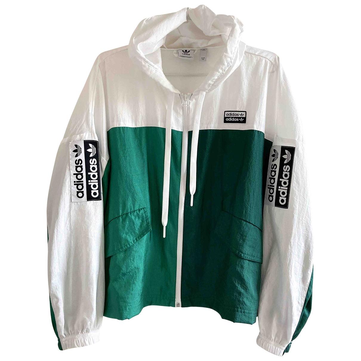 Adidas \N Jacke in  Gruen Polyester