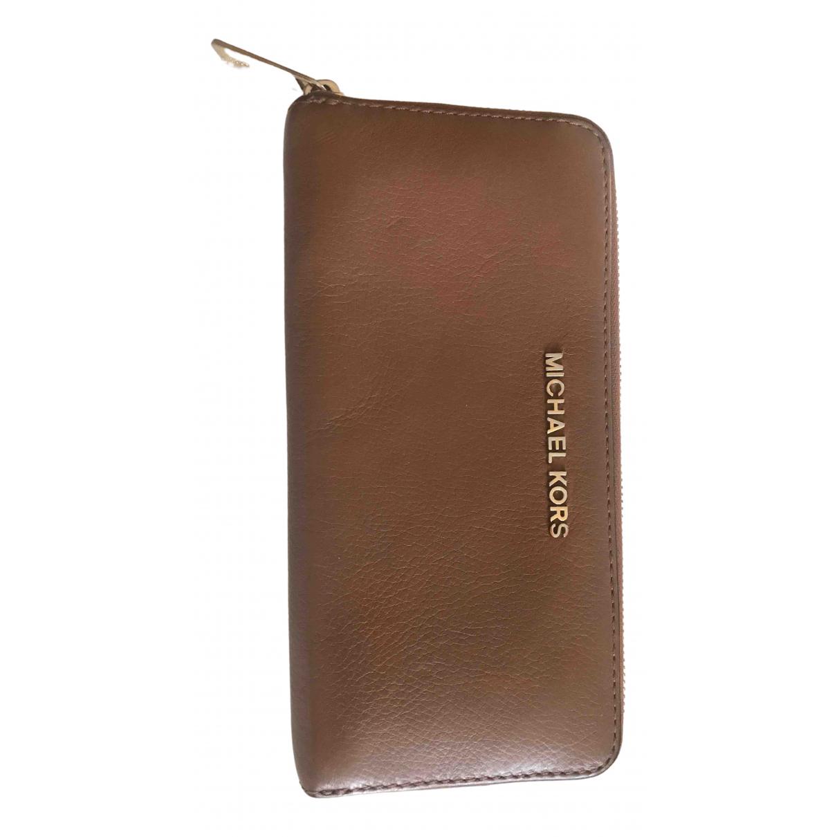 Michael Kors \N Camel Leather wallet for Women \N