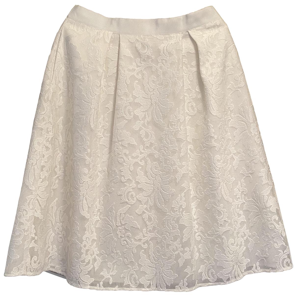 Ted Baker - Robe   pour femme en coton - blanc