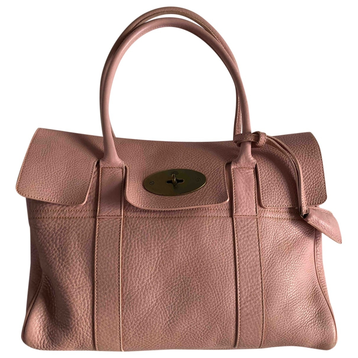 Mulberry Bayswater Pink Leather handbag for Women \N