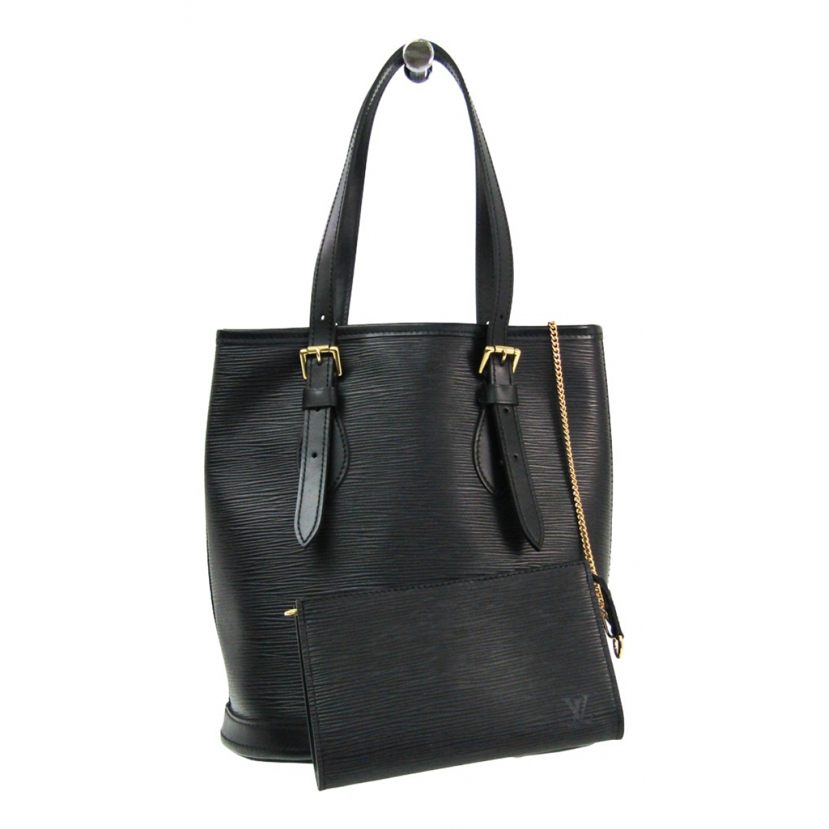 Bolso  Bucket  de Cuero Louis Vuitton