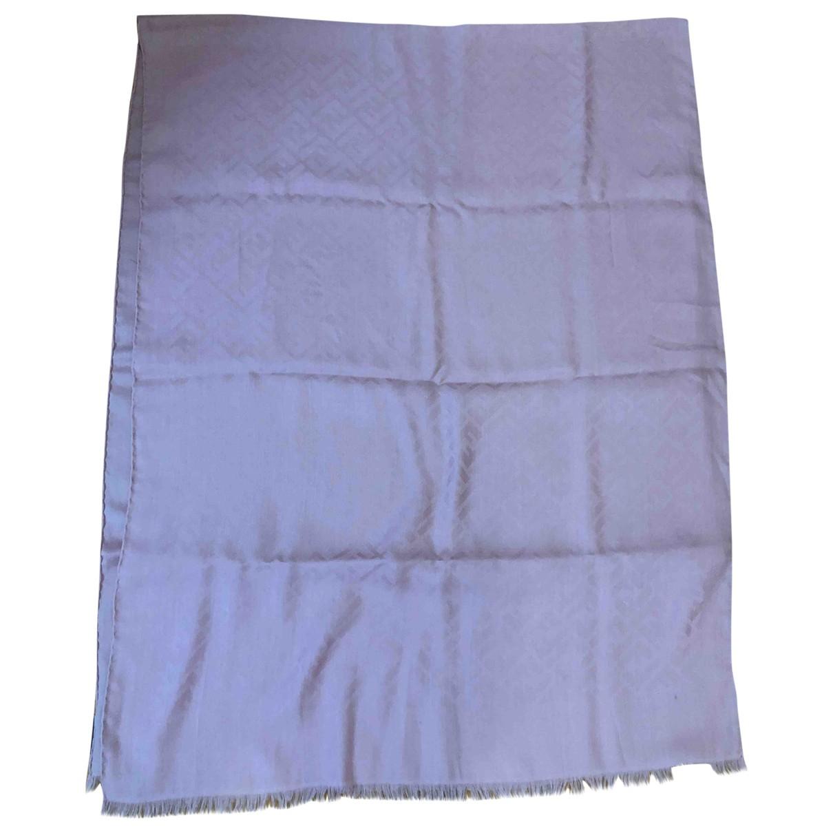 Fendi \N Pink Wool scarf for Women \N