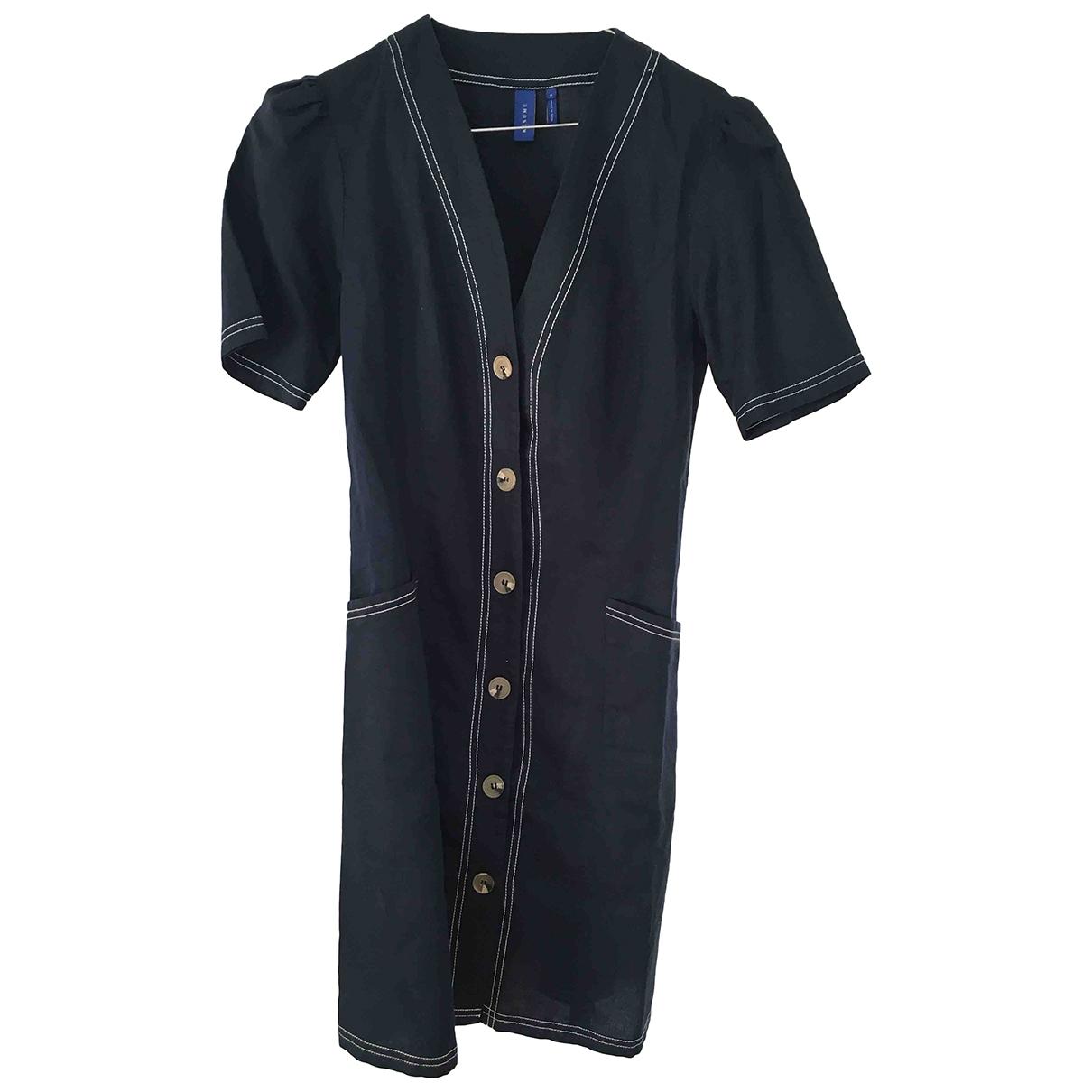 Résumé \N Blue Linen dress for Women 34 FR