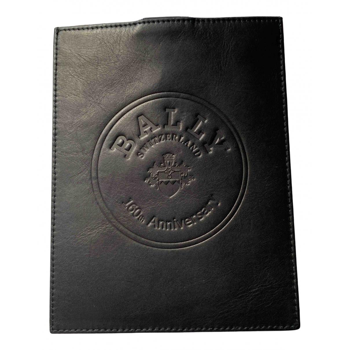 Bally - Accessoires   pour lifestyle en cuir - noir