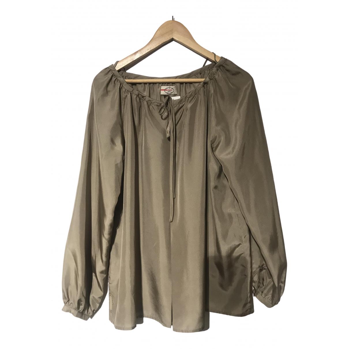 Prada \N Silk  top for Women 42 IT