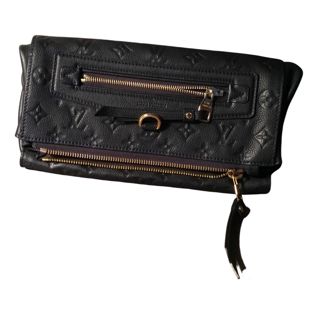 Louis Vuitton N Blue Leather Clutch bag for Women N