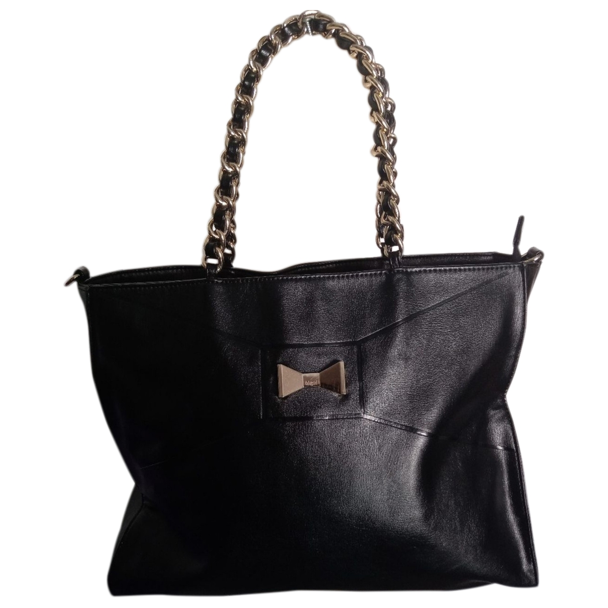 Blumarine \N Handtasche in  Schwarz Synthetik