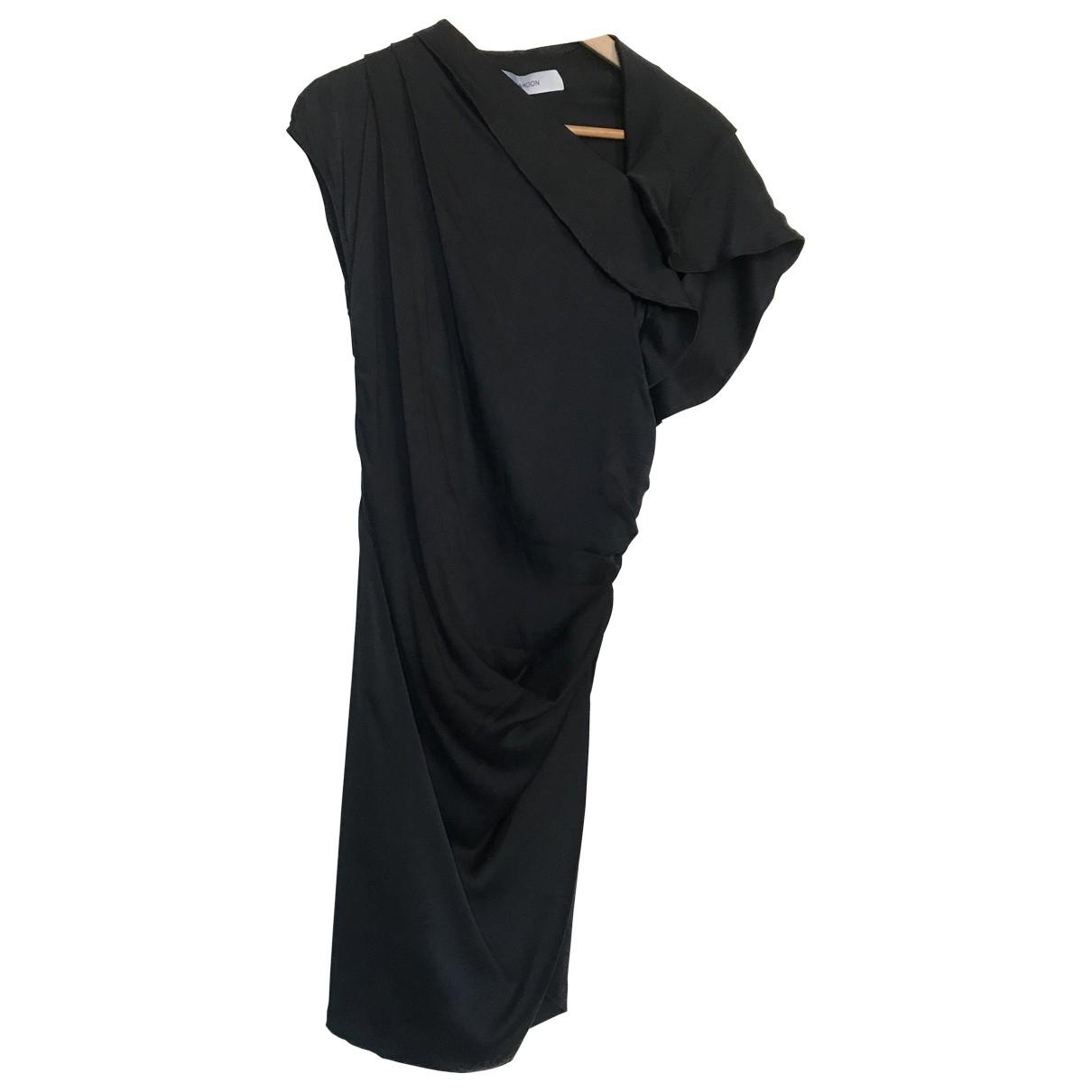 Thakoon \N Kleid in  Schwarz Seide