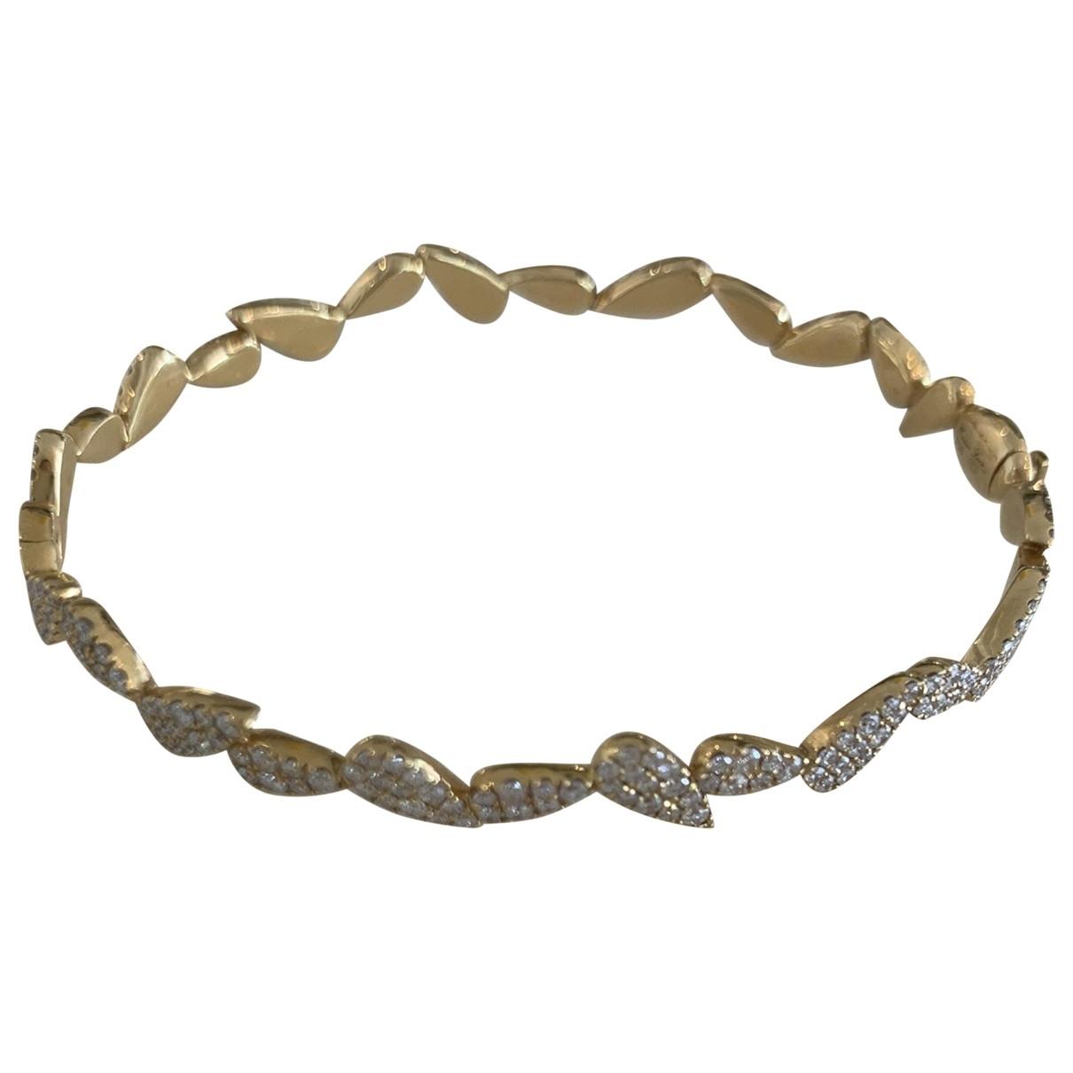 Yvonne Leon - Bracelet   pour femme en or jaune - dore