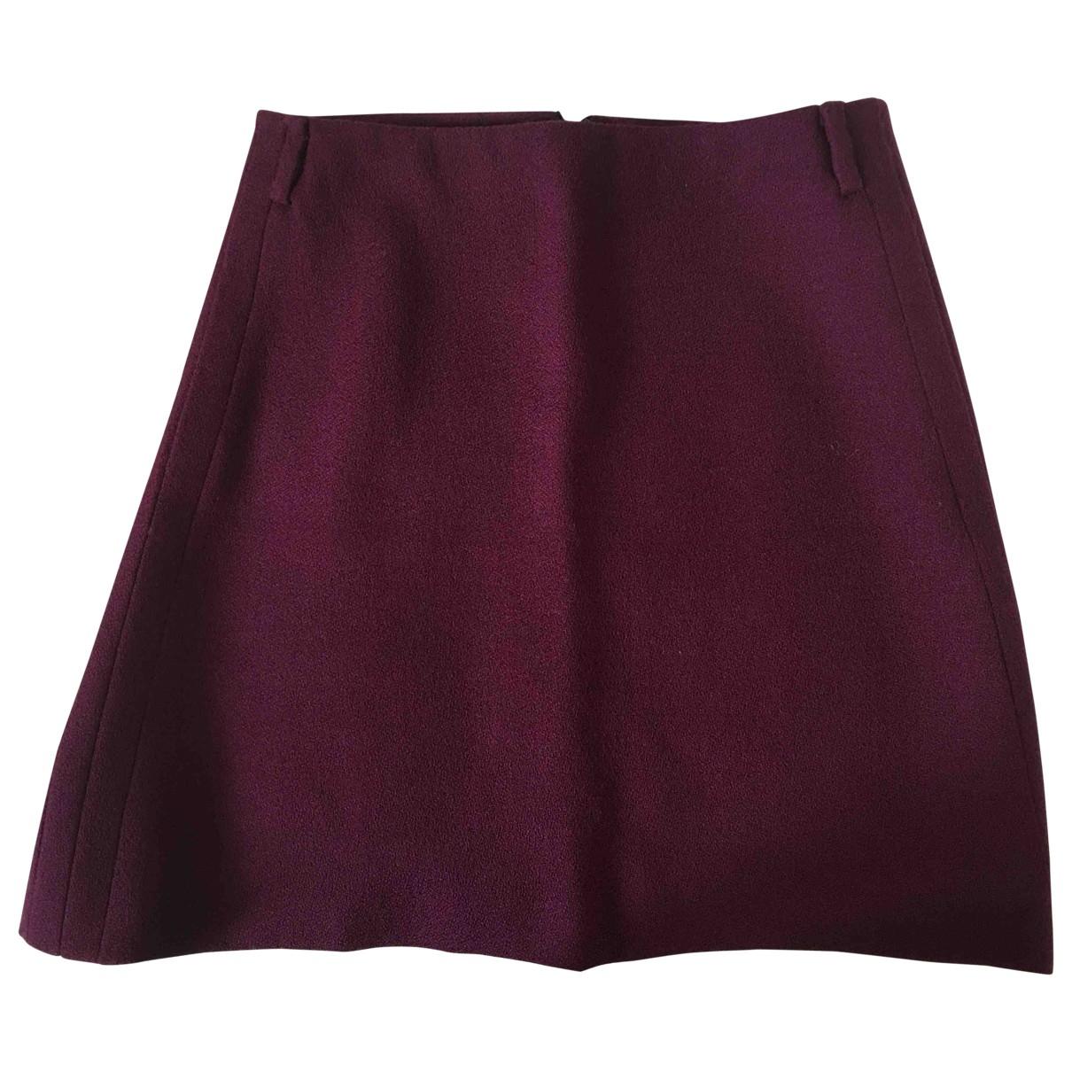 Mini falda de Lana Gucci
