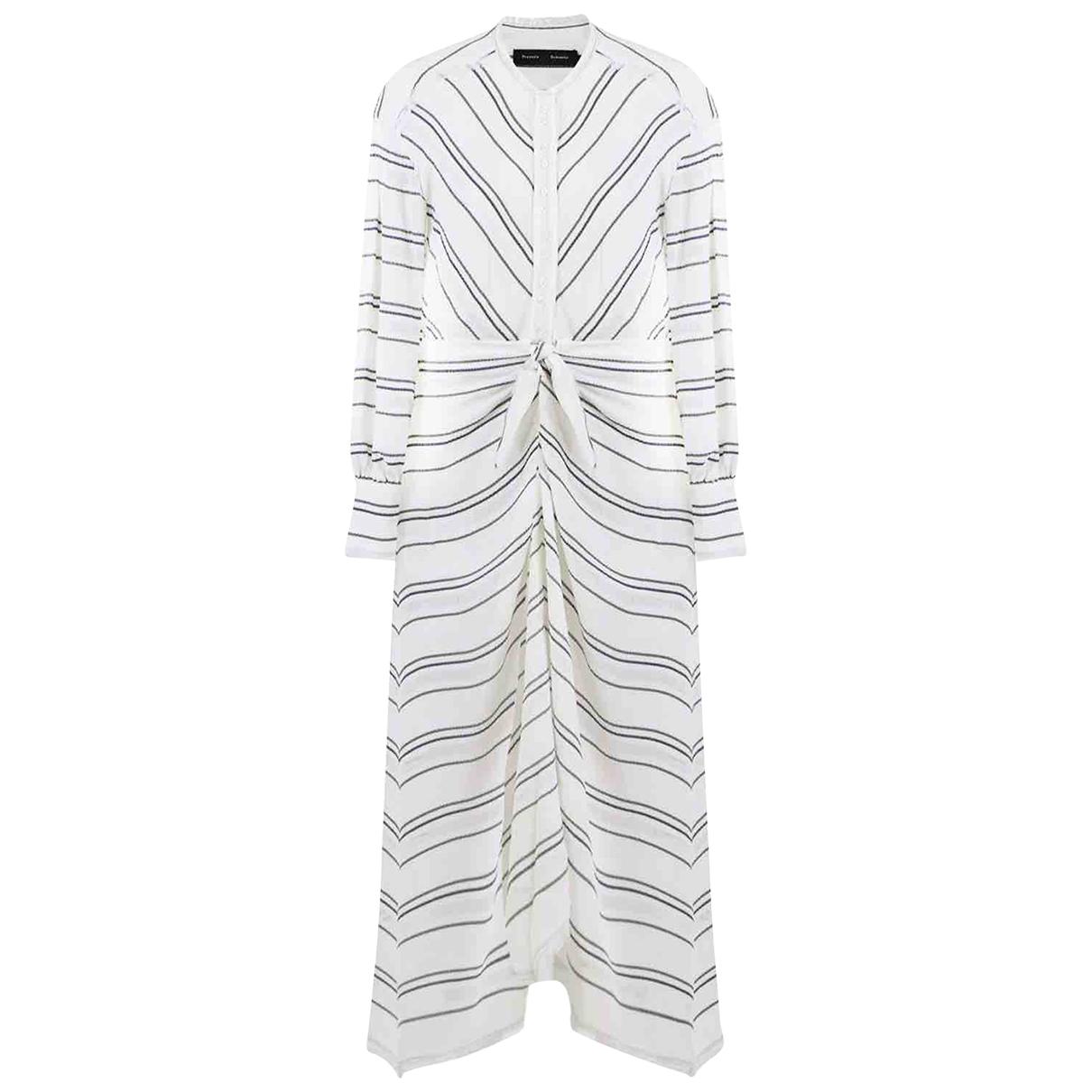 Proenza Schouler \N White dress for Women 12 UK