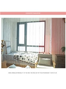 2*2M 1*2M Living Room and Porch Decorative String Sheer Curtain