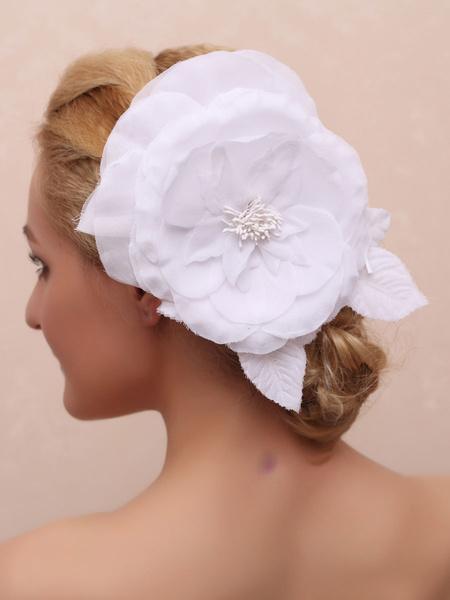 Milanoo Wedding Headpieces Twill Bridal Hair Accessories