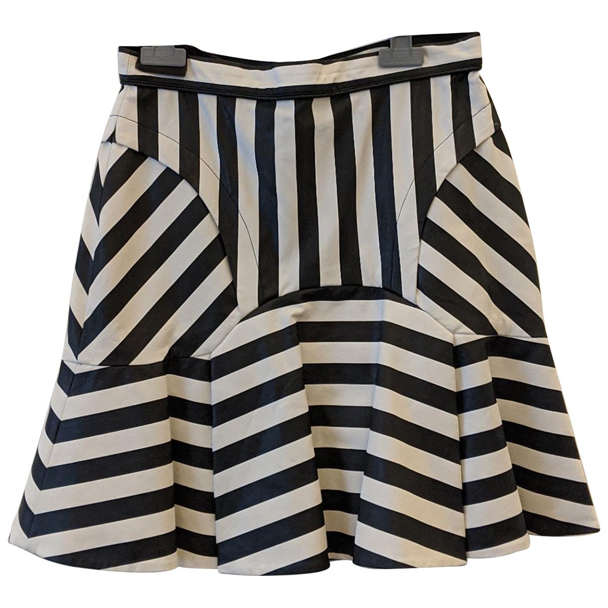 Three Floor Fashion - Jupe   pour femme en cuir - noir