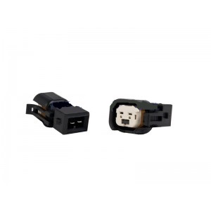 Fuel Injector Clinic PADPUtoJ6 Set of 6 US Car/EV6 (female) to Jetronic/EV1 Adapter (male) Injector Plug Adaptors