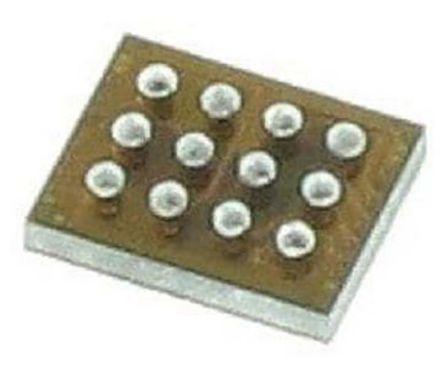 Maxim Integrated MAX77827BEWC+T, Buck/Boost Converter 1.6A, 2.8 MHz 12-Pin, WLP (10)