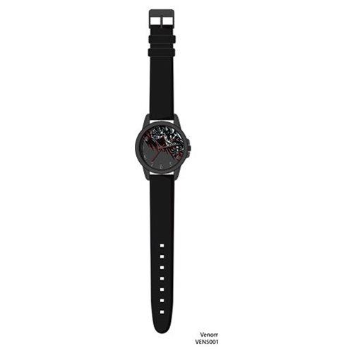 Venom Black Strap Watch
