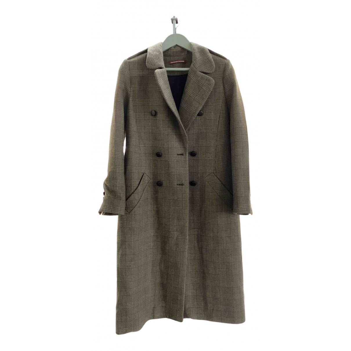 Comptoir Des Cotonniers \N Brown Cotton coat for Women 38 FR