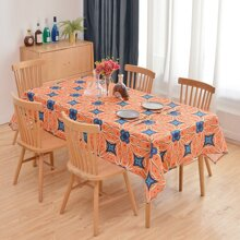 Flower Print Tablecloth