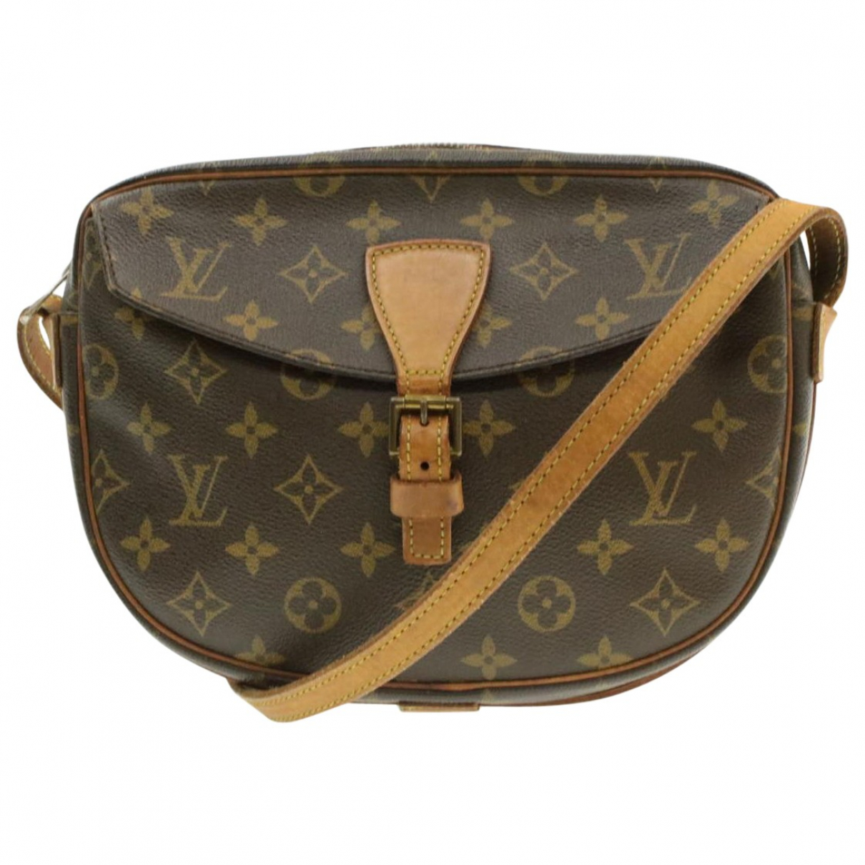 Louis Vuitton Jeune fille  Handtasche in  Braun Leinen