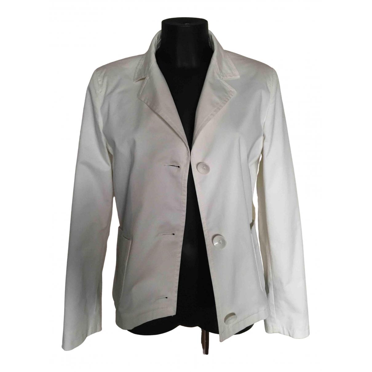 Intrend - Veste   pour femme en coton - blanc