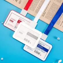 1 Stueck Kartenhalter und Halsband