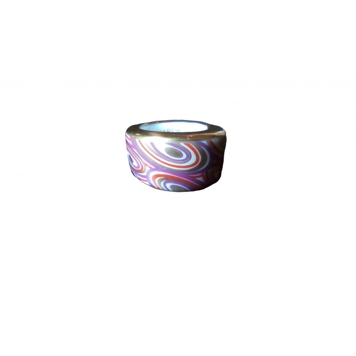 Bernardaud \N Ring in  Lila Keramik