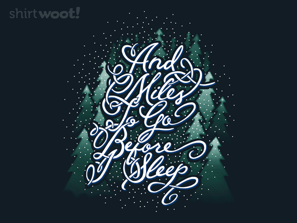 A Frosty Pause T Shirt