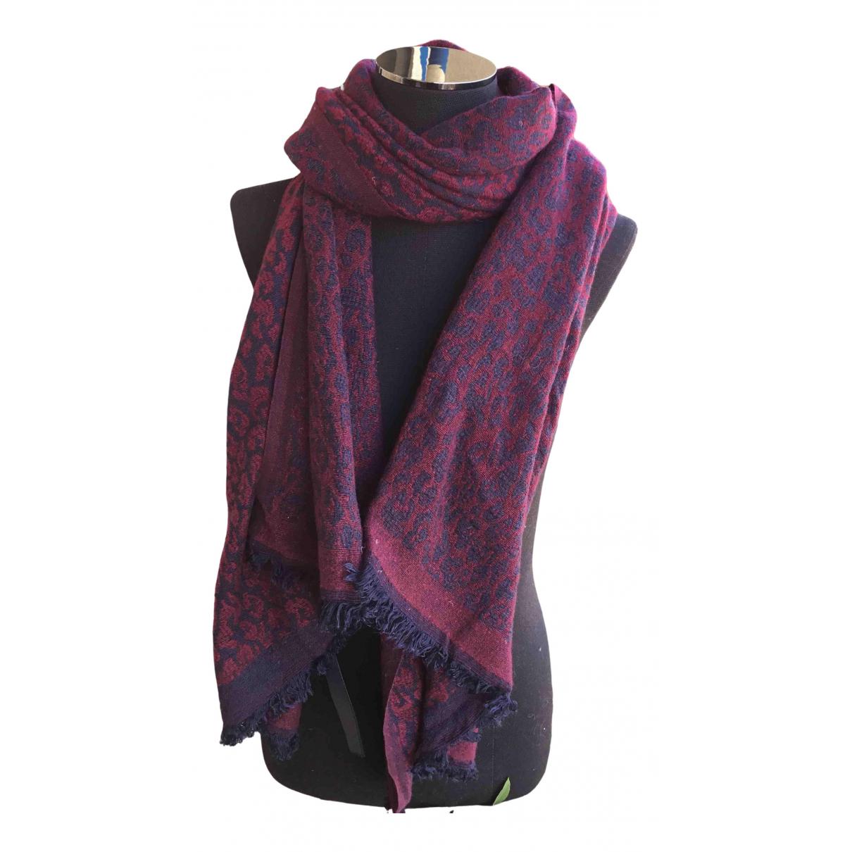 Maje Spring Summer 2020 Burgundy scarf for Women \N