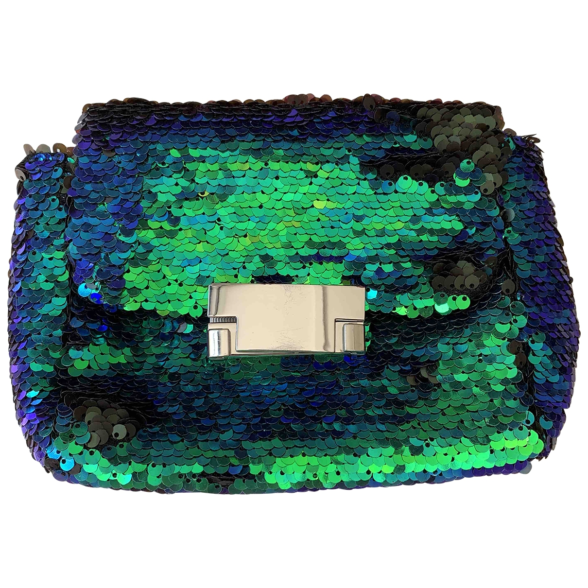 Topshop - Pochette   pour femme en a paillettes - multicolore