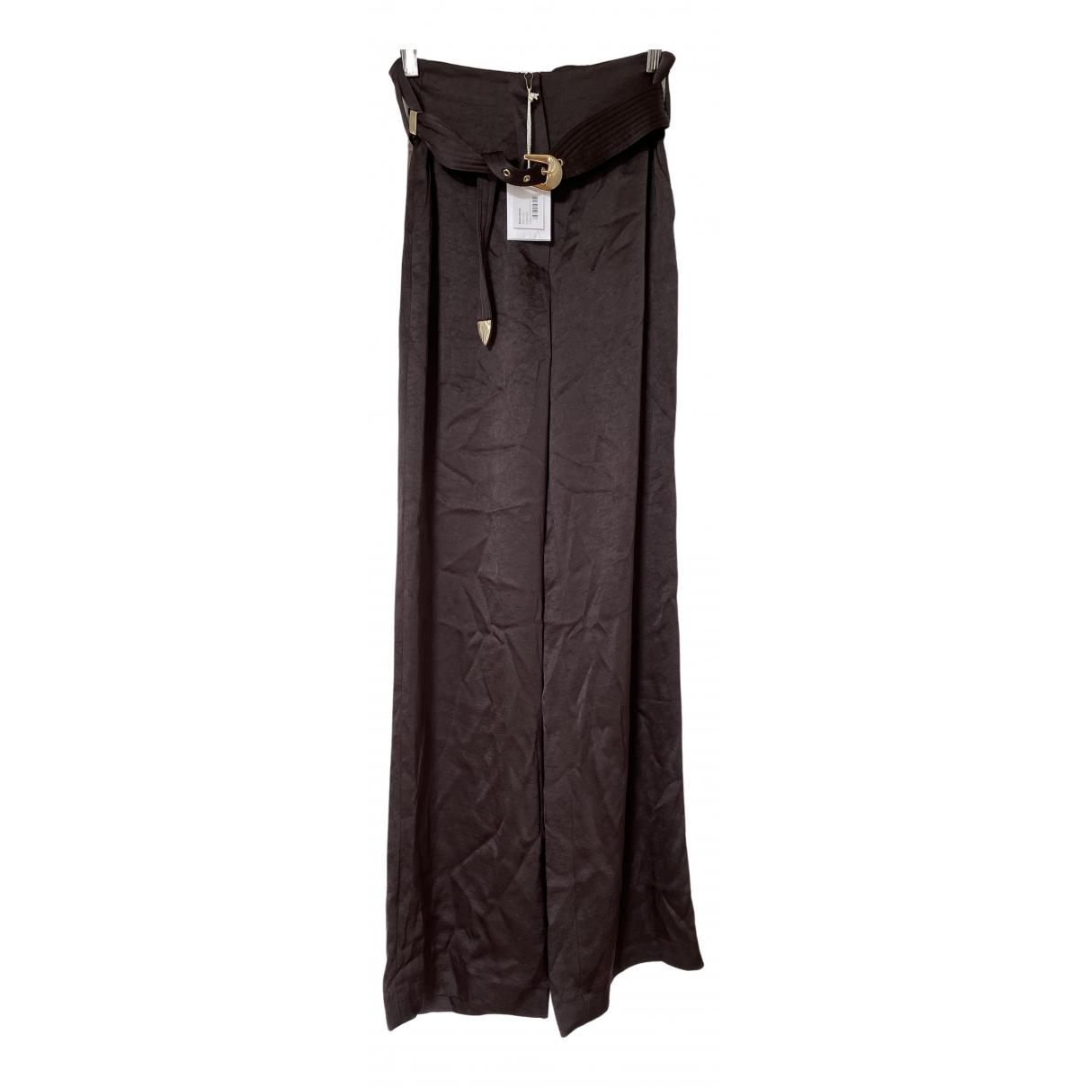 Pantalon de Seda Nanushka