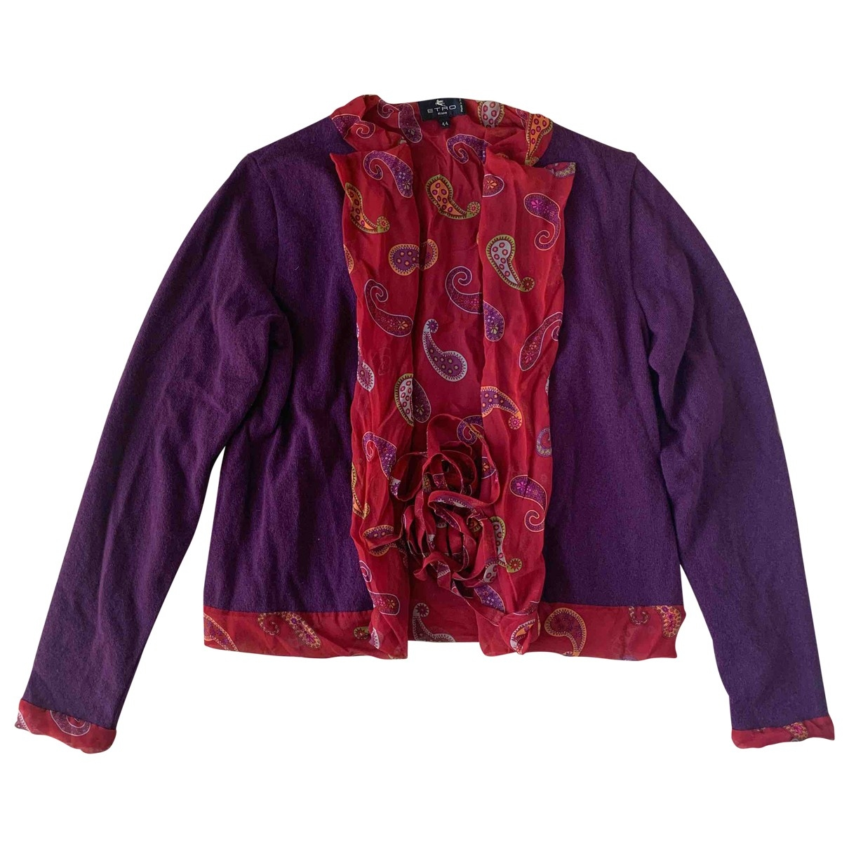 Etro \N Pullover in  Lila Wolle