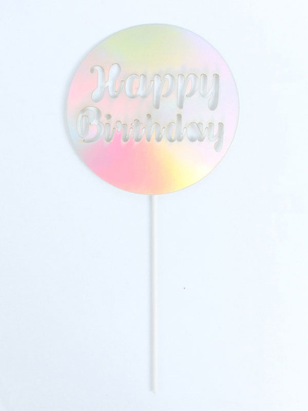 Milanoo Cake Toppers Baby Kids Happy Birthday Party Decorations Halloween