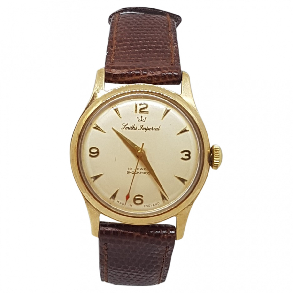 Non Signé / Unsigned \N White Yellow gold watch for Men \N