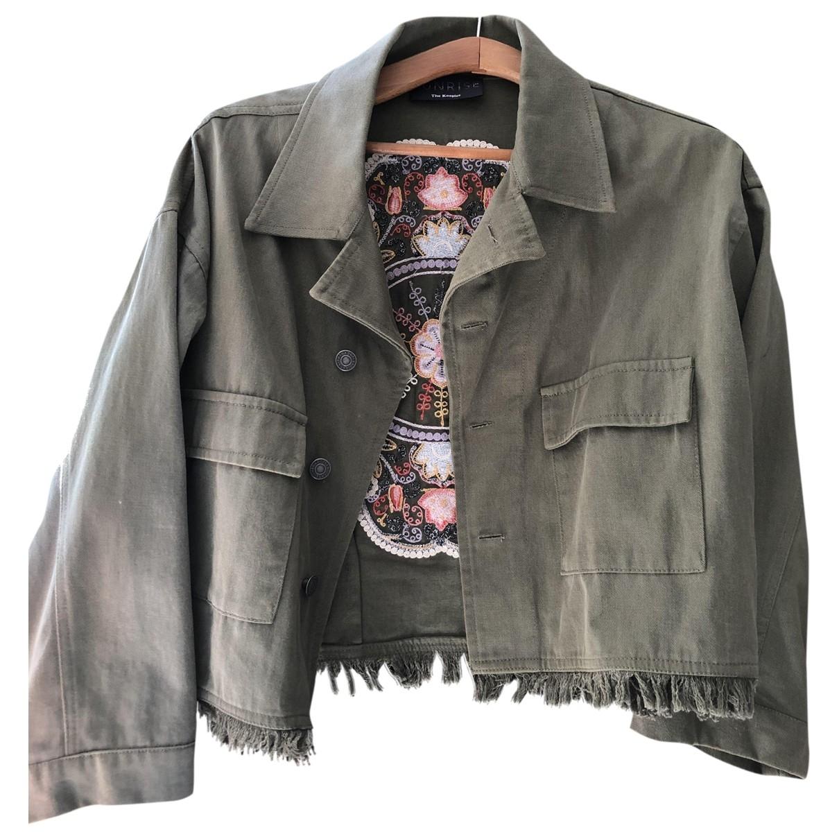 The Kooples \N Khaki Cotton jacket for Women 2 US