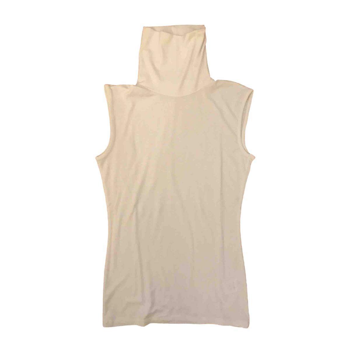 Patrizia Pepe - Top   pour femme en coton - blanc