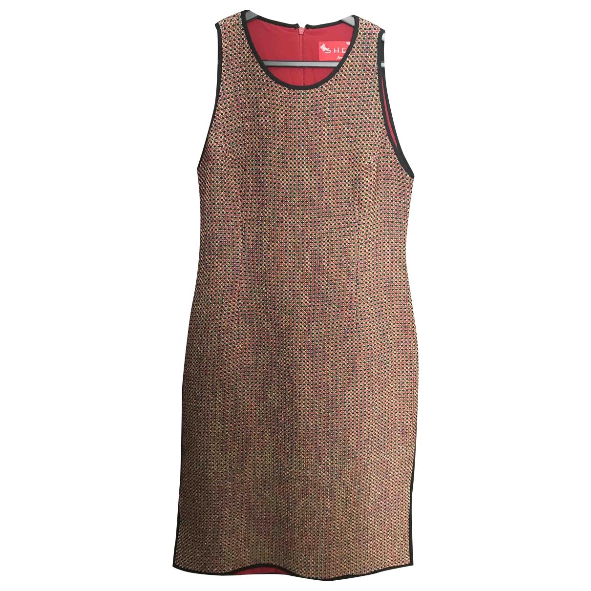 Vestido midi Tweed Non Signe / Unsigned