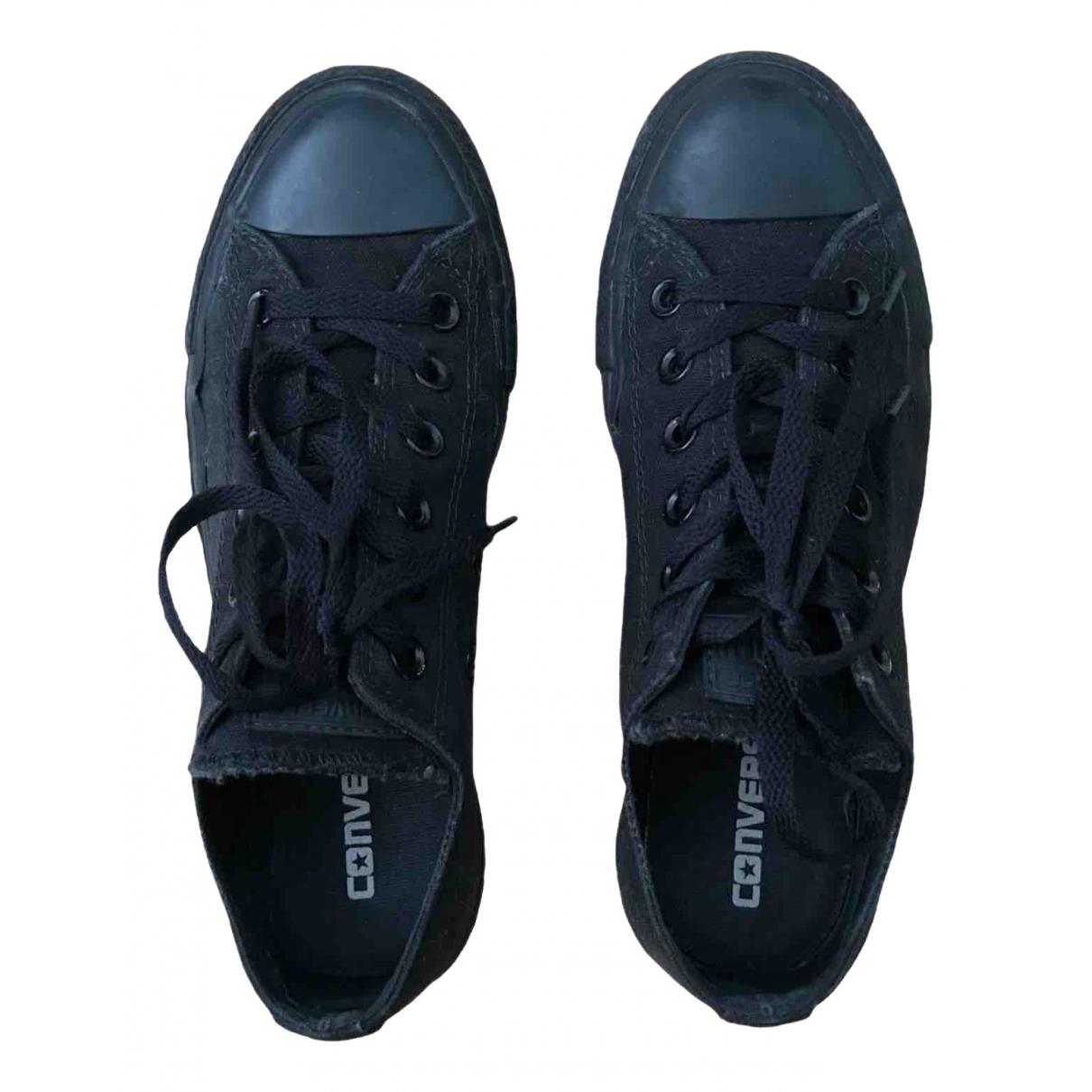 Converse - Baskets   pour femme en toile - noir