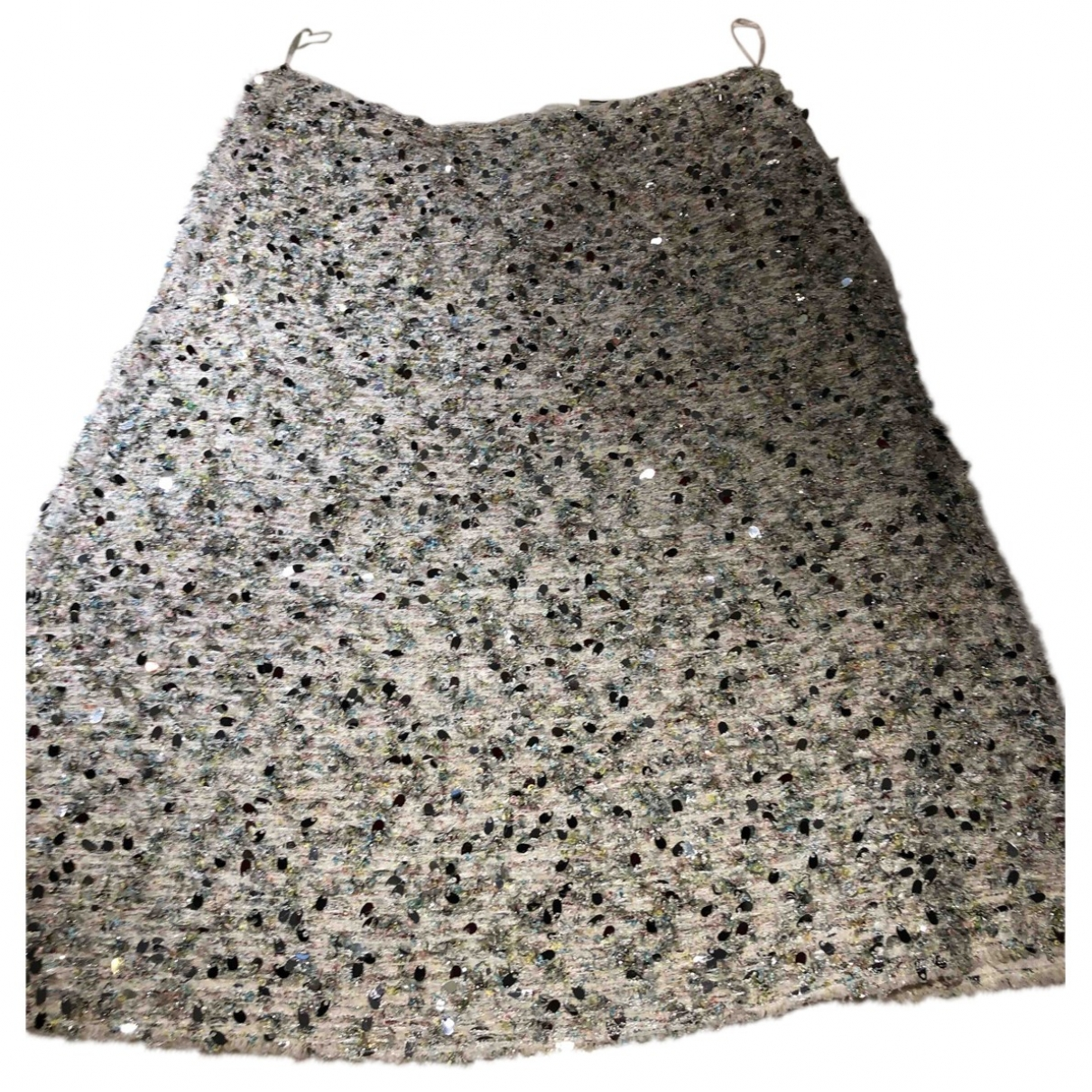 Nina Ricci \N Rocke in  Beige Tweed