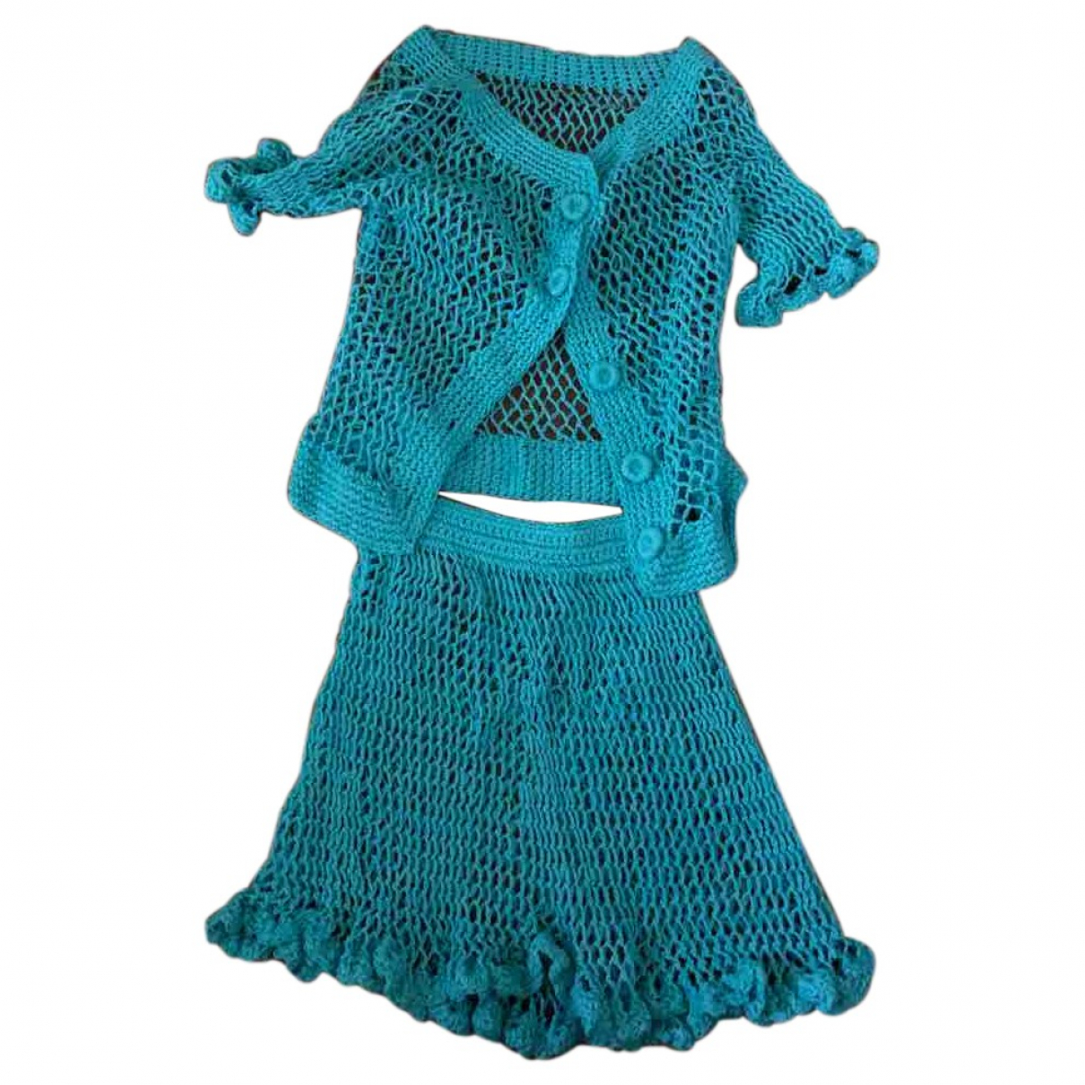 - Robe   pour femme - turquoise