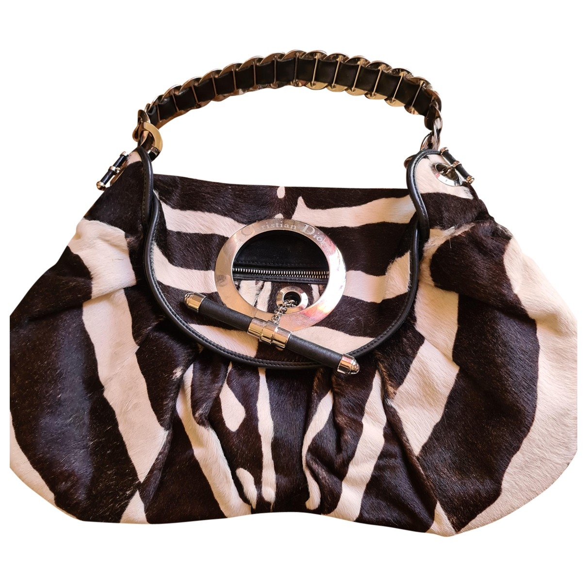 Dior \N Handtasche in Kalbsleder in Pony-Optik