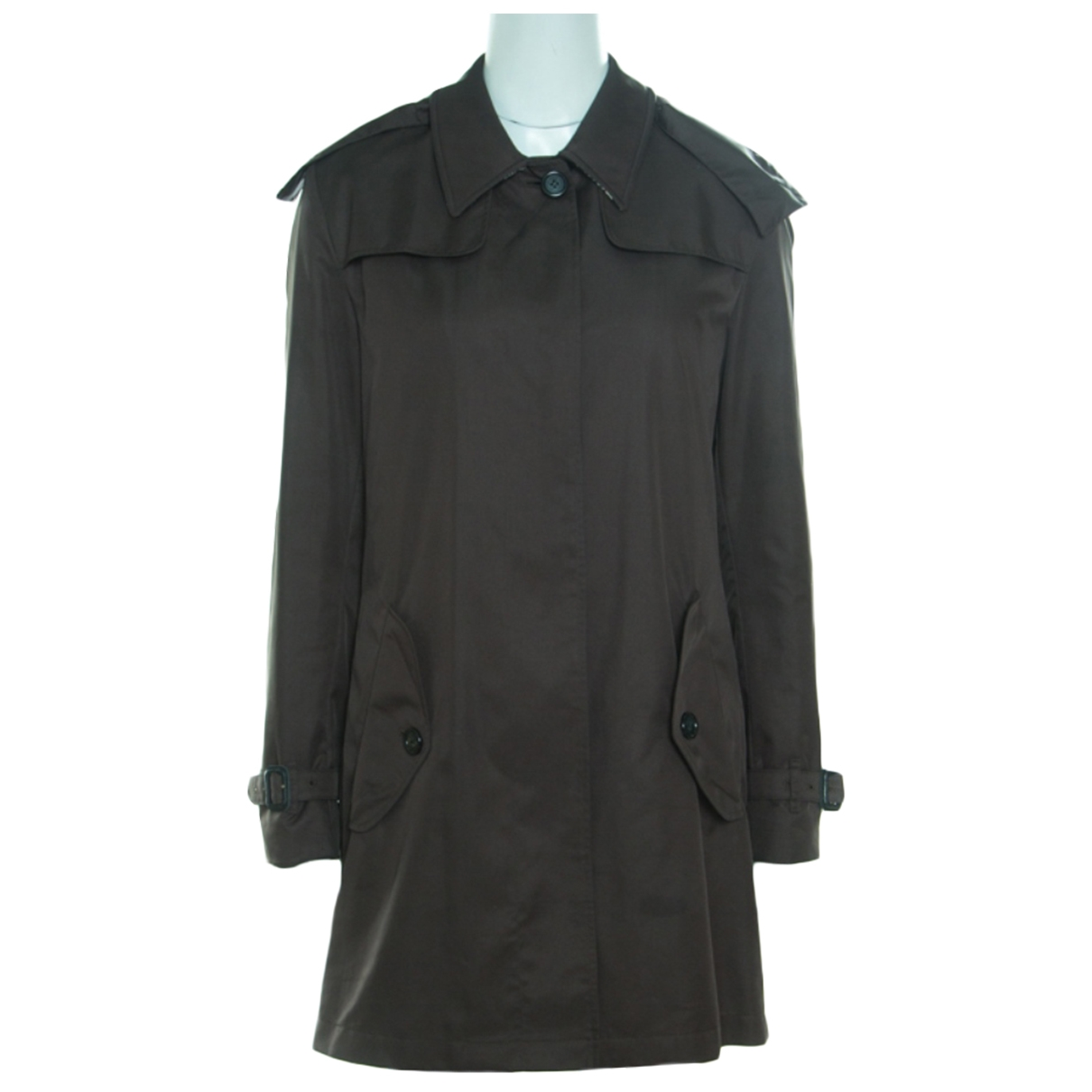 Burberry \N Green Trench coat for Women M International
